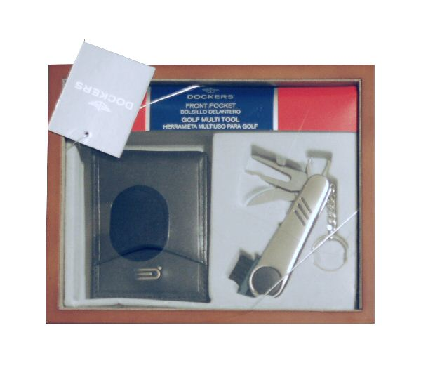 Dockers billfold & golf tool