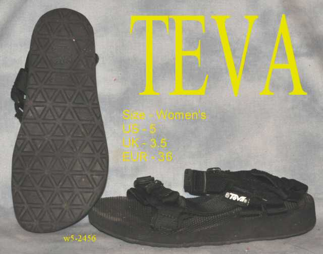 TEVA Water Womens Sandals sz 5 hiking water shoes