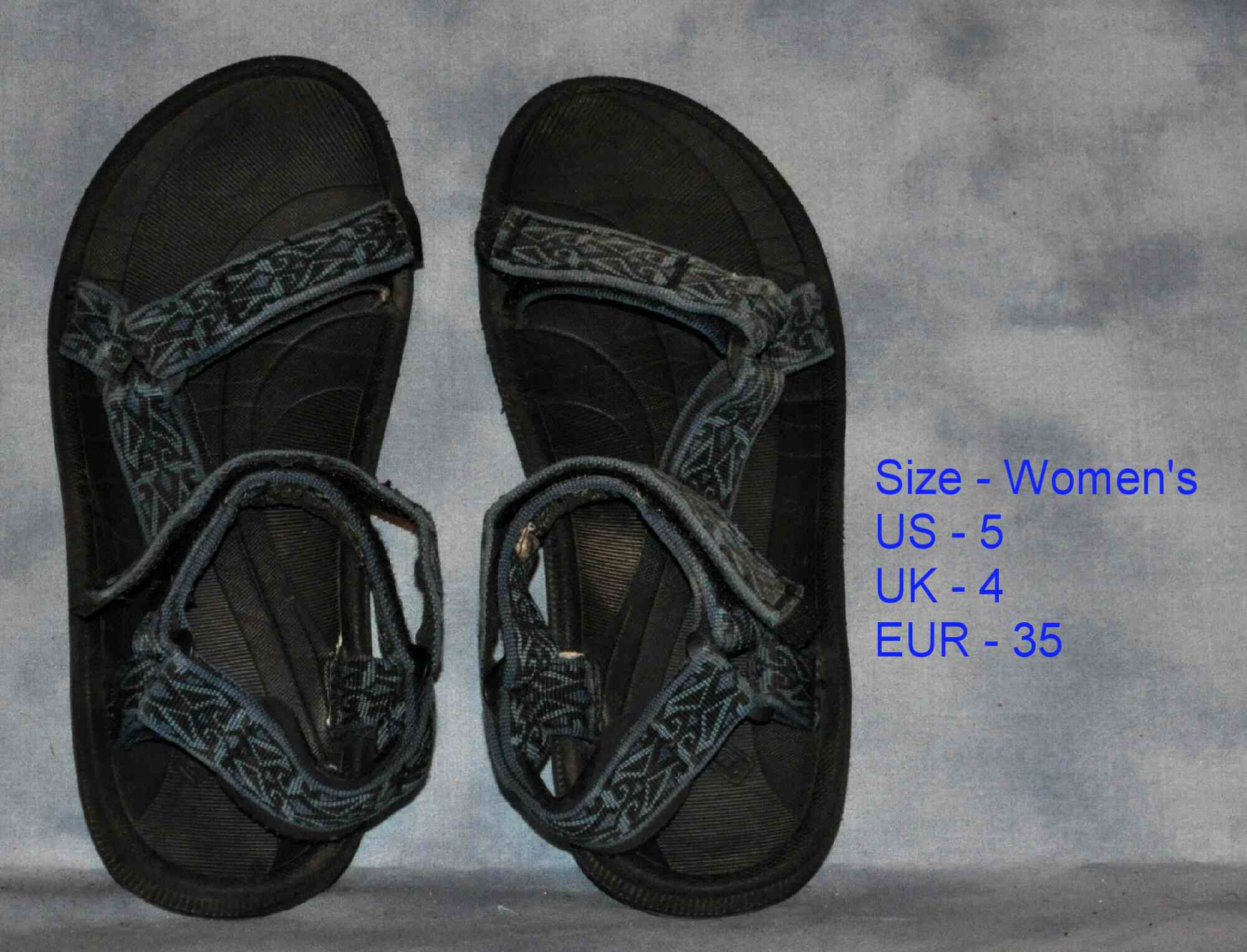 Details about Womens size 5 TEVA Water Sandals water shoes refurbished